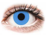 Lenti a contatto colorate speciali - non correttive - ColourVUE Crazy Lens - Sky Blue - giornaliere non correttive (2 lenti)