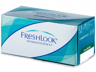 Lenti a contatto Alcon - FreshLook Dimensions - correttive (6lenti)