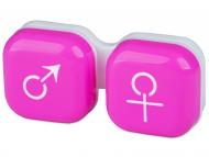 Custodie e Astucci - Astuccio portalenti Man Woman Pink