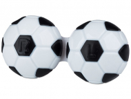 Accessori - Astuccio porta lenti Football - black