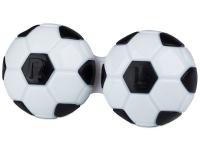 Astuccio porta lenti Football - black