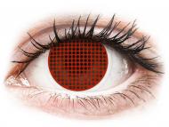 Lenti a contatto rosse - non correttive - ColourVUE Crazy Lens - Red Screen - non correttive (2lenti)