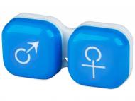 Custodie e Astucci - Astuccio porta lenti man&woman - blue