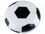 Accessori per lenti a contatto - Astuccio con specchietto Football Black