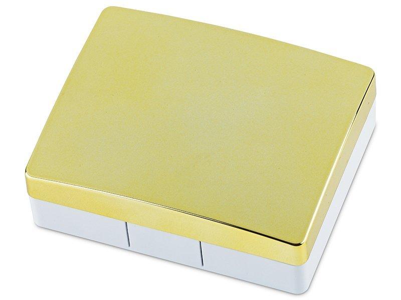 Astuccio con specchietto Elegant Gold  - Astuccio con specchietto Elegant Gold