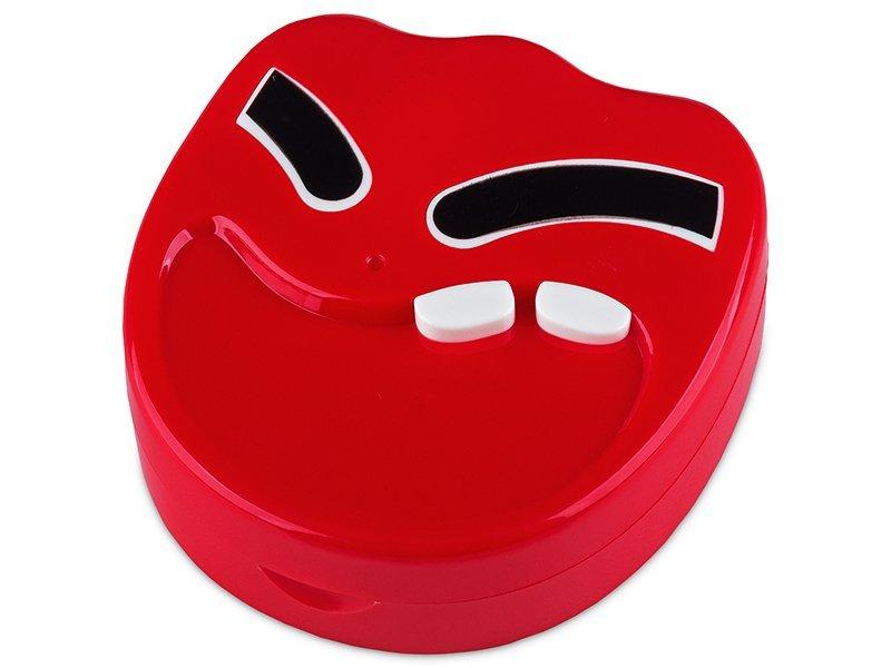 Astuccio con specchietto Smile Red