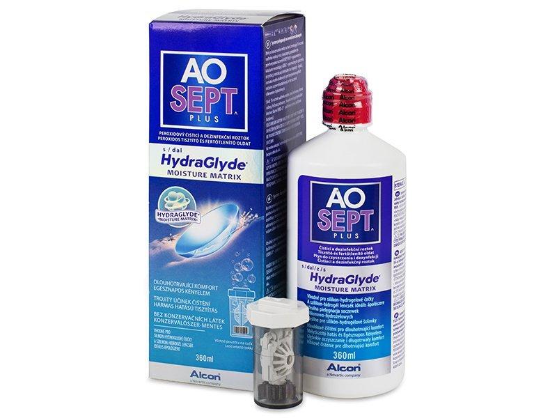Soluzione AO SEPT PLUS HydraGlyde 360ml  - Soluzione unica