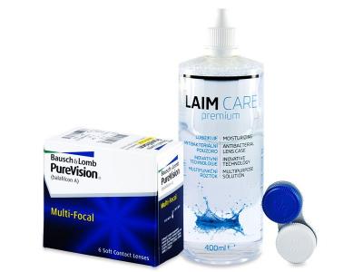 PureVision Multi-Focal (6 lenti) + soluzione Laim-Care 400 ml