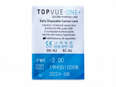 TopVue One+ (90 lenti) - Blister della lente
