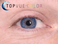 TopVue Color - correttive (2 lenti) - True Sapphire on blue eye