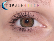 TopVue Color - correttive (2 lenti) - Green on brown eye