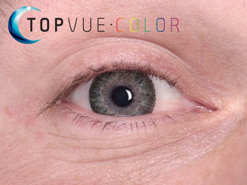 TopVue Color - correttive (2 lenti) - Green on blue eye