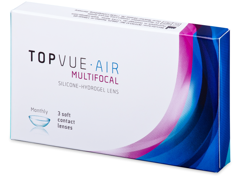 TopVue Air Multifocal (3 lenti) - Lenti a contatto multifocali