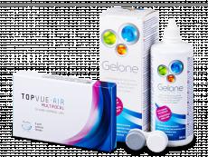 TopVue Air Multifocal (3 lenti) + soluzione Gelone 360 ml