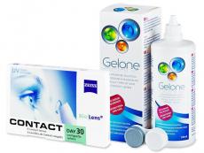 Carl Zeiss Contact Day 30 Compatic (6lenti) + soluzione Gelone 360 ml