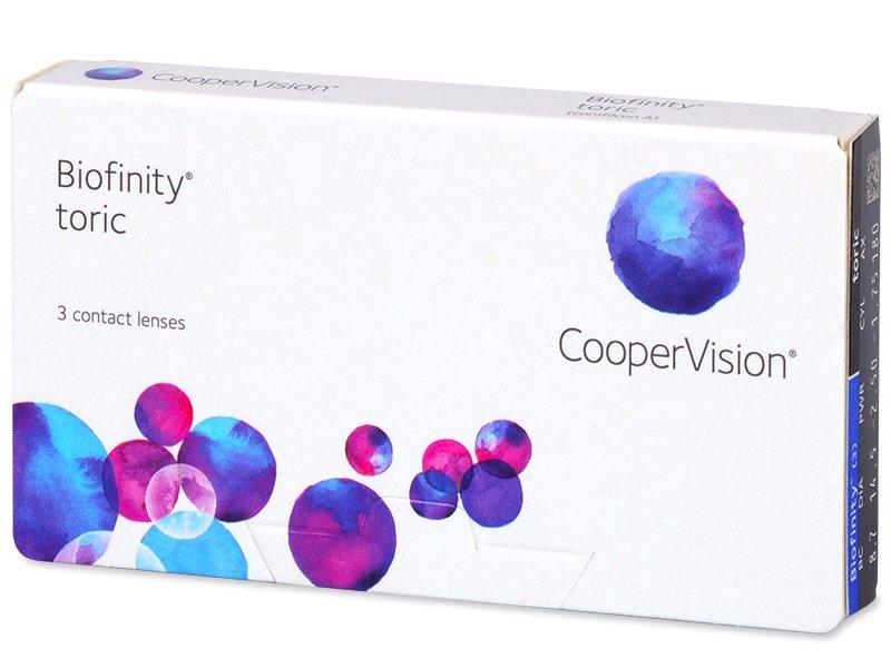 Biofinity Toric (3lenti) - Lenti a contatto toriche