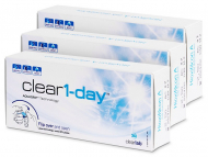 Lenti a contatto - Clear 1-Day (90 lenti)