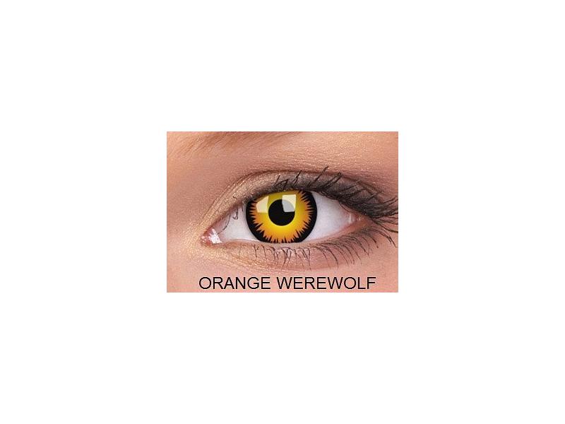 Crazy ColourVUE (2lenti) - Orange Werewolf