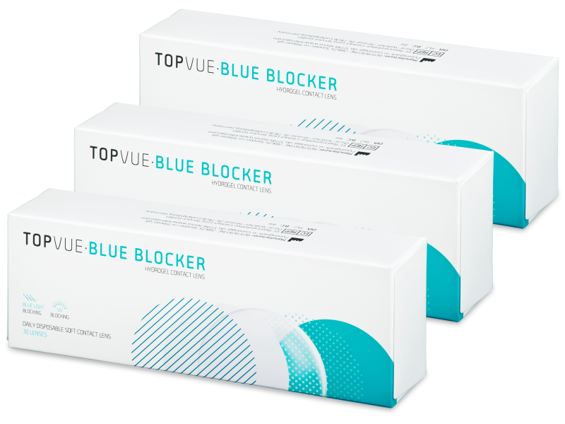TopVue Blue Blocker (90 lenti)