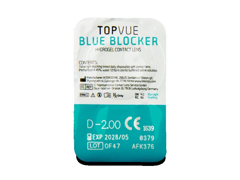 TopVue Blue Blocker (180 lenti) - Blister della lente