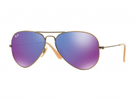 Occhiali da sole - Ray-Ban AVIATOR LARGE METAL RB3025 - 167/1M