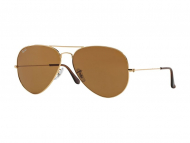 Occhiali da sole - Ray-Ban AVIATOR LARGE METAL RB3025 - 001/33