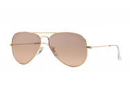 Occhiali da sole - Ray-Ban AVIATOR LARGE METAL RB3025 - 001/3E