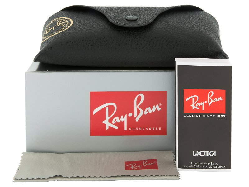Ray-Ban CLUBMASTER RB3016 - W0365  - Preview pack (illustration photo)
