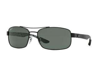 Occhiali da sole Rettangolari - Ray-Ban CARBON FIBRE RB8316 - 002/N5