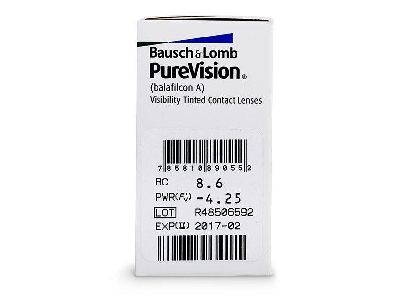 PureVision (6lenti) - Caratteristiche generali