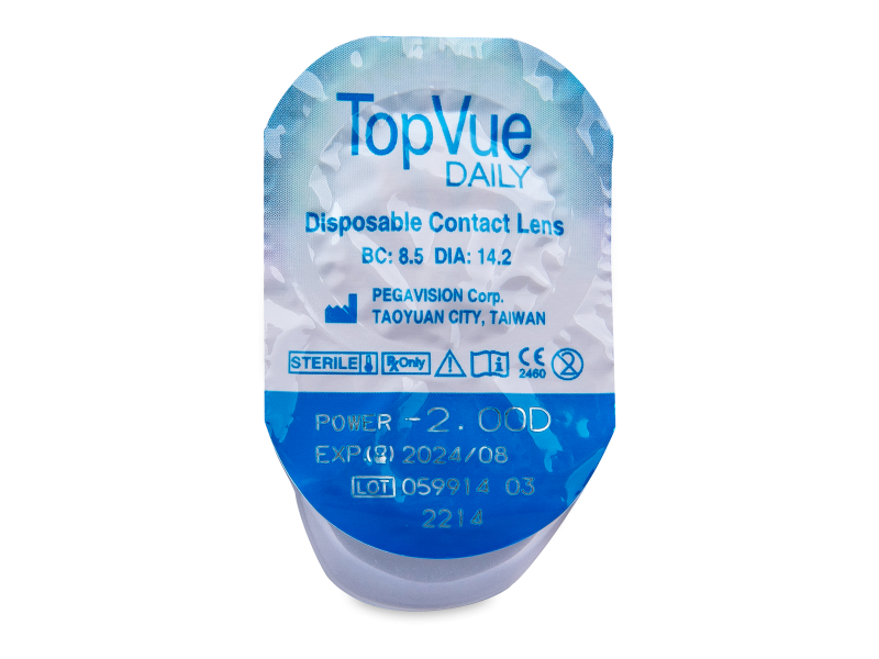 TopVue Daily (90lenti) - Blister della lente