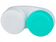 Custodie e Astucci - Astuccio porta lenti verde-bianco contrassegnato L/R