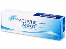 1 Day Acuvue Moist (30lenti) - Lenti a contatto giornaliere