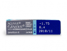 Acuvue Oasys (6lenti) - Caratteristiche generali