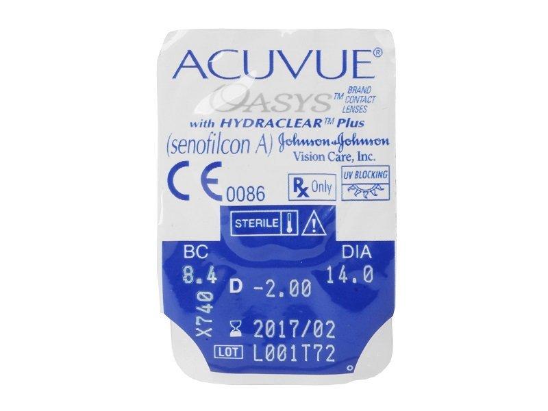 Acuvue Oasys (6lenti) - Blister della lente