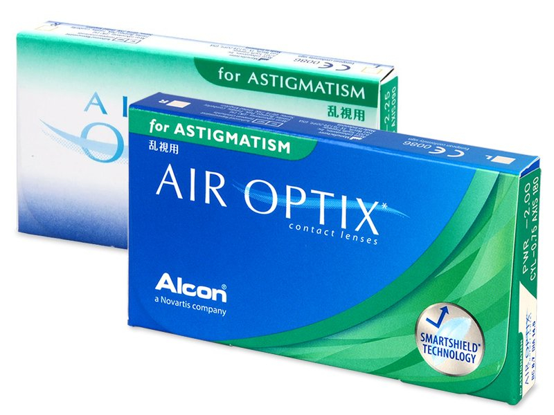Lenti a contatto toriche - Air Optix for Astigmatism (3 lenti)