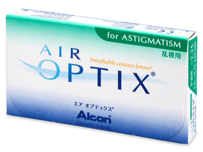 Precedente e nuovo design - Air Optix for Astigmatism (3 lenti)