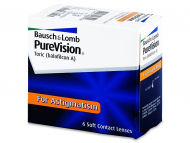 Bausch and Lomb - PureVision Toric (6 lenti)