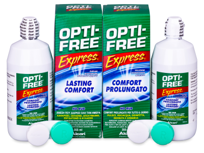 Soluzione OPTI-FREE Express 2x355ml  - Economy duo pack- solution