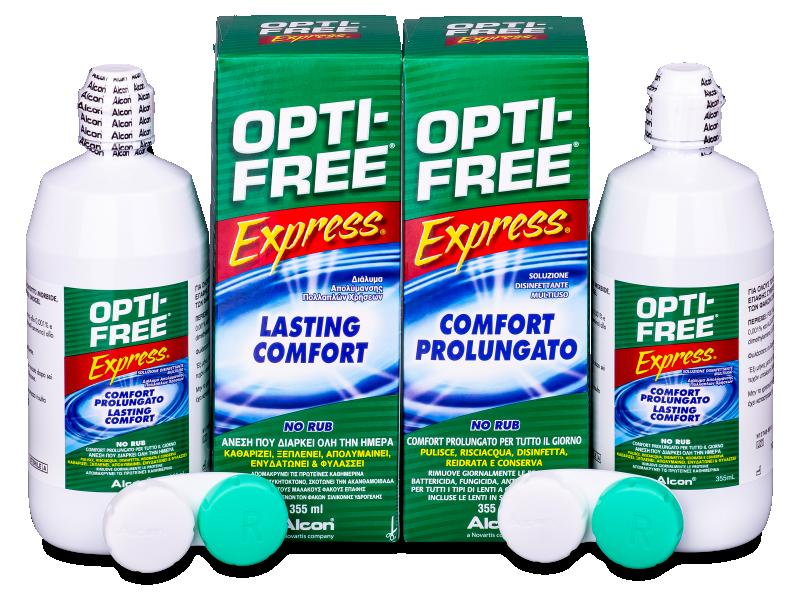Soluzione OPTI-FREE Express 2x355ml