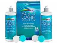 Soluzione per lenti a contatto Solocare Aqua - Soluzione SoloCare Aqua 2x360ml
