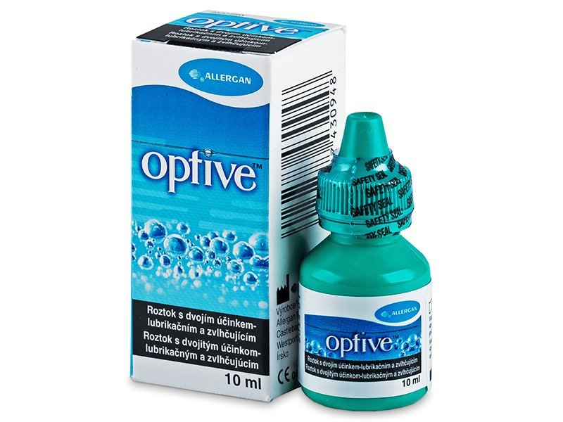 Gocce oculari OPTIVE 10 ml  - Precedente e nuovo design