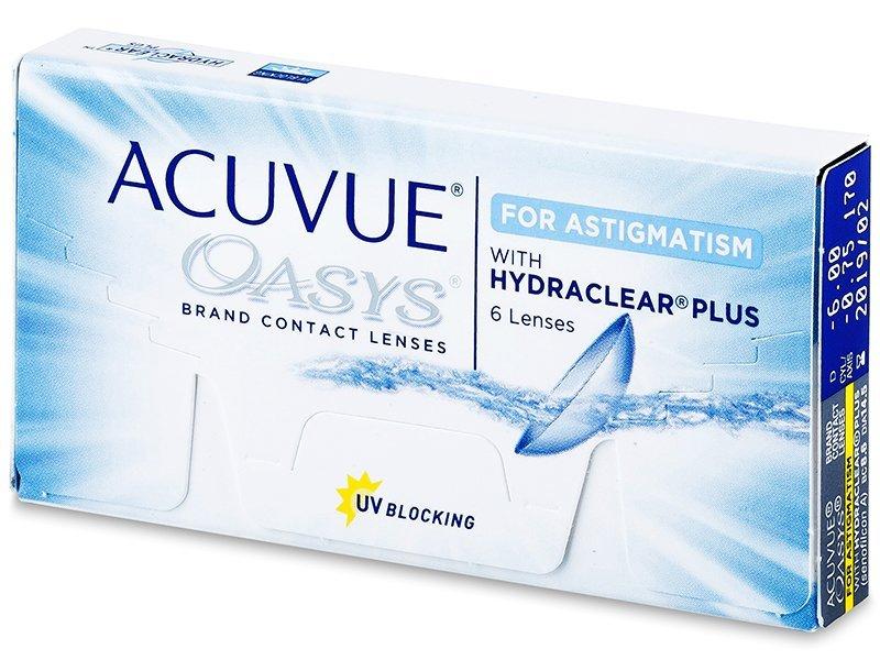 Acuvue Oasys for Astigmatism (6lenti) - Lenti a contatto toriche