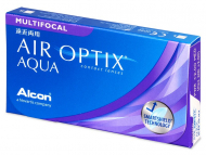 Air Optix Aqua Multifocal (6 lenti) - Lenti a contatto multifocali