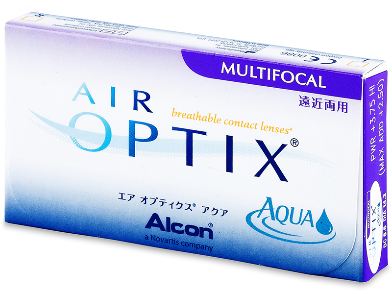 Air Optix Aqua Multifocal (3lenti) - Precedente e nuovo design