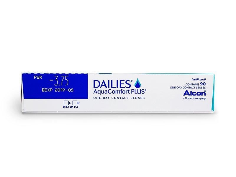 Dailies AquaComfort Plus (90lenti) - Caratteristiche generali