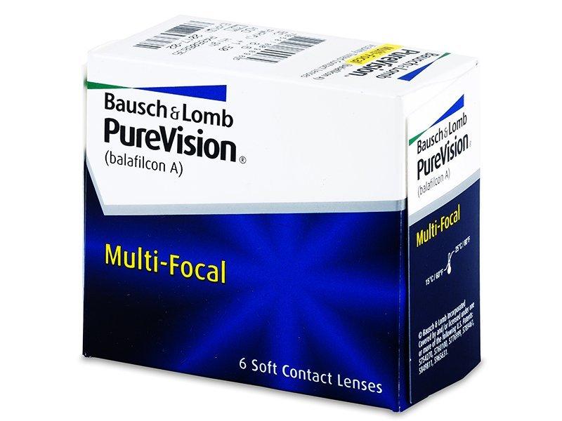 Lenti a contatto multifocali - PureVision Multi-Focal (6lenti)
