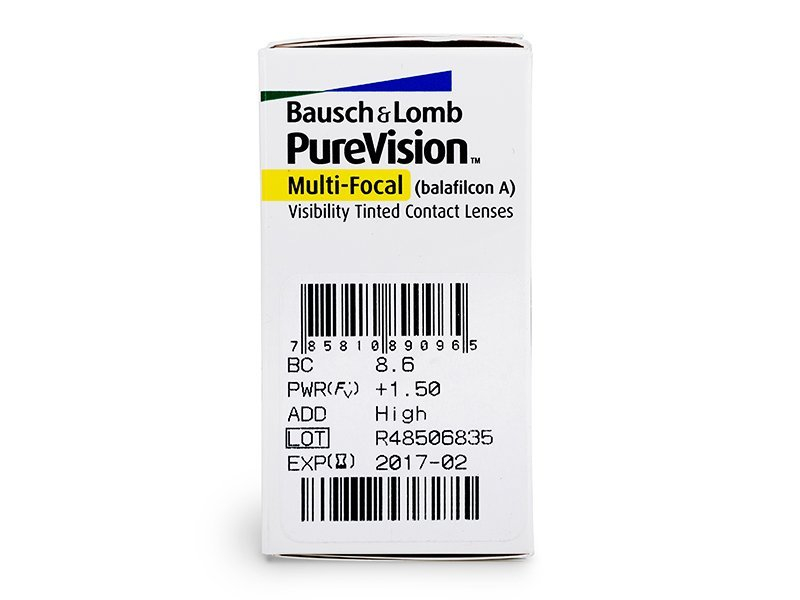 Caratteristiche generali - PureVision Multi-Focal (6lenti)