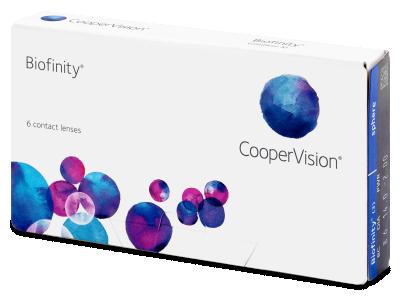Biofinity (6lenti) - Lenti a contatto mensili