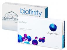 Biofinity (6lenti) - Precedente e nuovo design